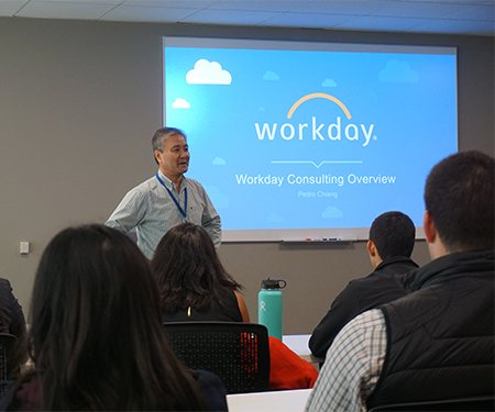 Presentations for Workday staff to Cal Poly students