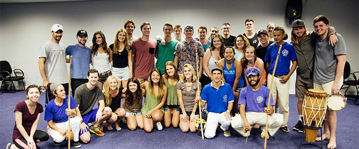 Cal Poly students meet with locals in Brazil