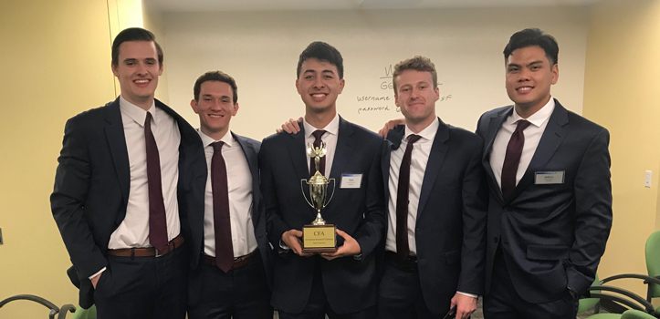 Cal Poly CFA Challenge team