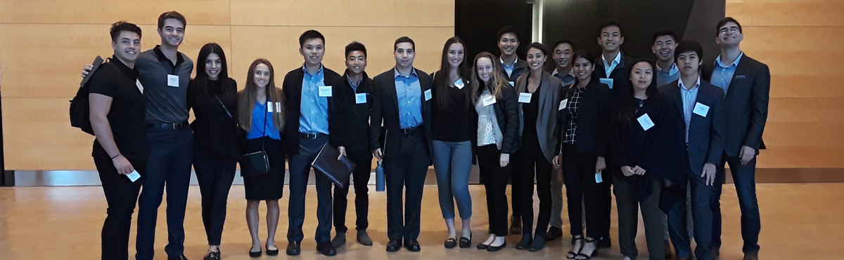 Accounting students on a firm tour