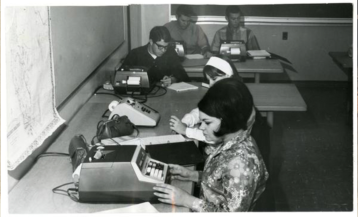 Cal Poly Agriculture-Business Students 1968