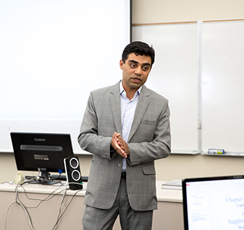 Majid Raja at Cal Poly