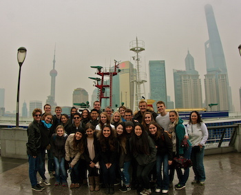 Cal Poly Students in China